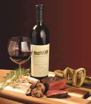 Ignite the Senses Wine and Filet Mignon Gift Set