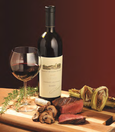 Ignite the Senses Wine and Filet Mignon Gift Set