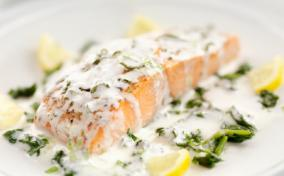Champagne Sauce for Salmon
