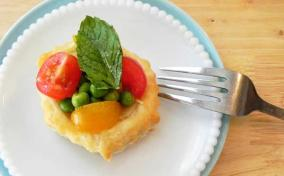 Savory and Fresh Vegetable Tartlets