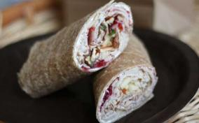 Cranberry Pecan Turkey Wraps